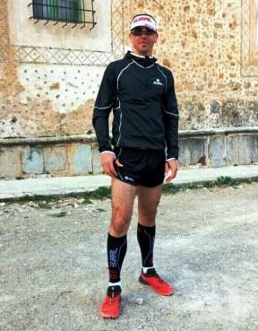 Casey Morgan en la previa de Ultra Trail Mallorca 107k 2014
