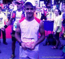 Gran trail Aneto 2014: Sebas Sanchez Saez, tercero.