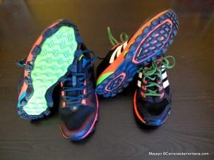 Zapatillas Adidas response trail 21 y adizero xt5 (2014)
