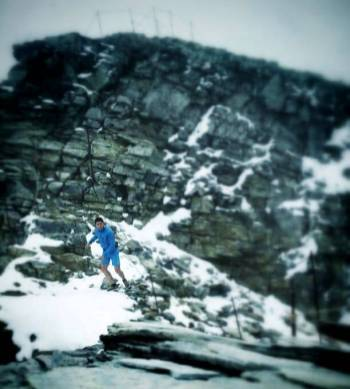 Manuel Merillas en Ice trail Tarentaise foto Manuel Merillas 5