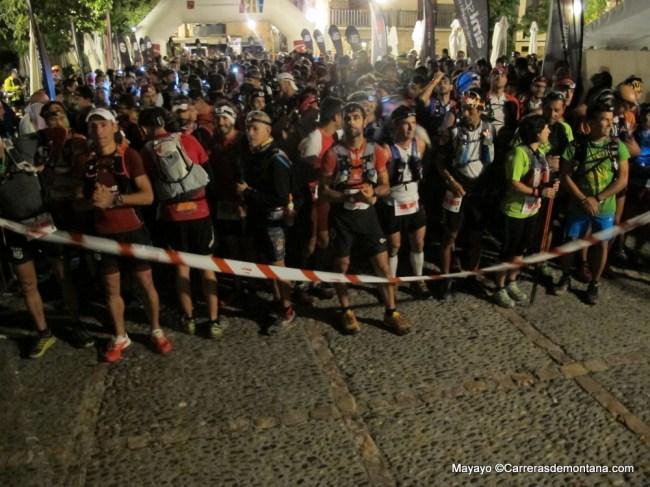 salida Ultra Trail guara Somnontano 102k/D+6100m a las 7AM: