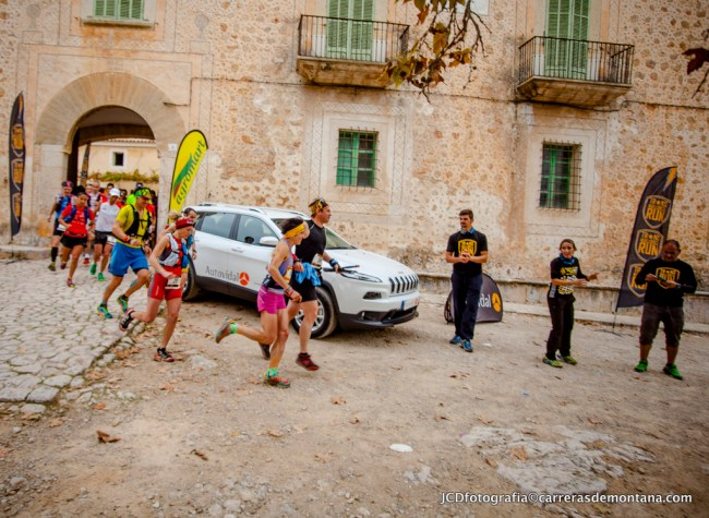 Transmallorca Run: salida etapa 3 desde Es Galatzó.