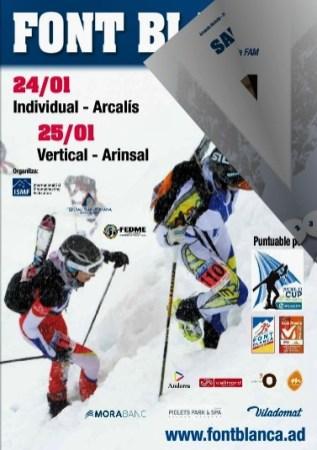Esqui de Montaña Copa del Mundo Andorra fontblanca 2015