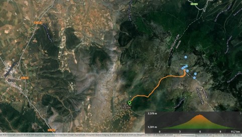 Rutas Trail Running Moncayo por Julian Muñoz para carrerasdemontana.com
