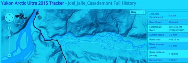 Joel jaile meta yukon arctic ultra