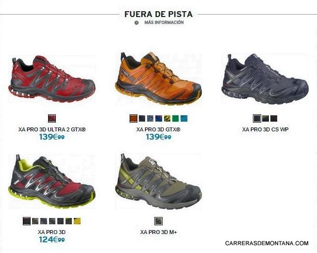 zapatillas salomon precios y modelos argentina