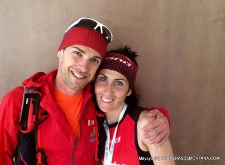 Sonia Escuriola y David Mundina. Foto: Mayayo.