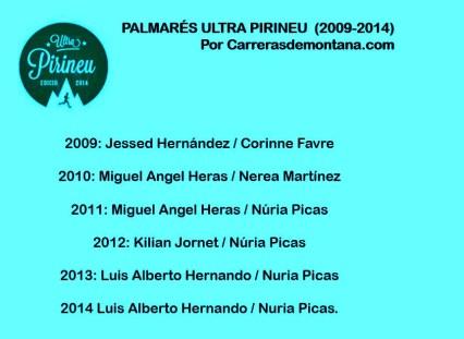 Ultra Pirineu 2015 palmares Kilian Jornet Luis Alberto Hernando y mas (2)