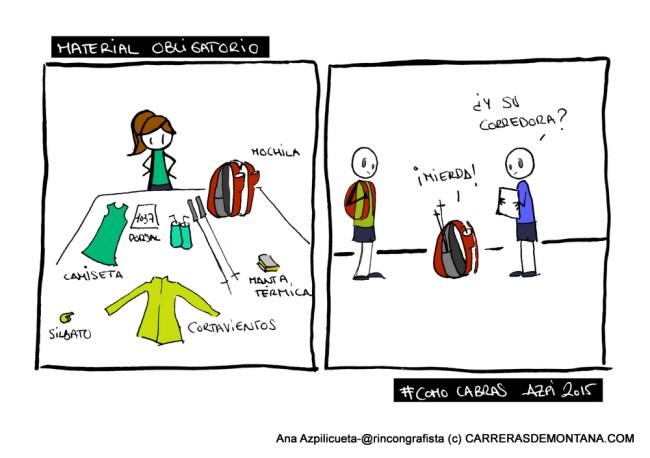 #TrailViernes en Carrerasdemontana.com: Material obligatorio