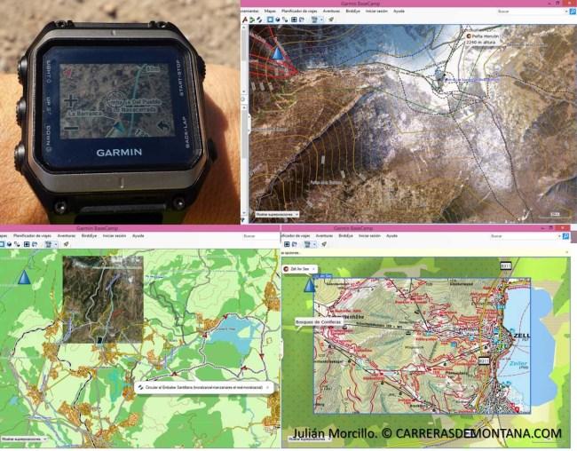 Garmin Epix operando con Birdseye