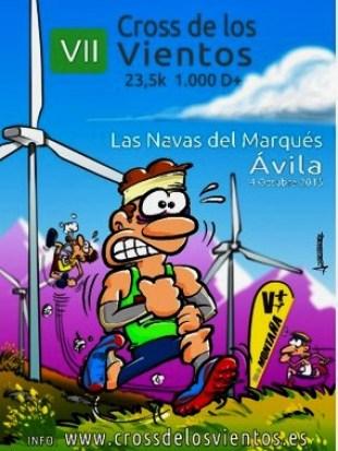 Cross de los Vientos 2015: Alegría y buen humor en Sierra Malagón.