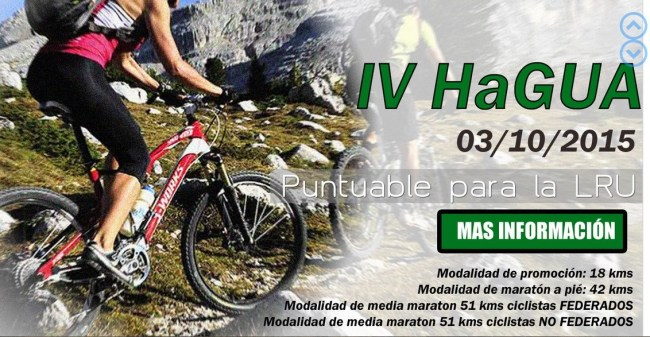 Homenaje Guardia Civil 2015: Marcha 18k; Trail 42k; BTT 51k