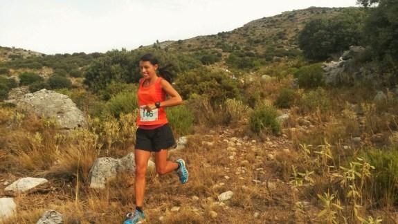 Gemma Arenas, liderando destacada la Maraton