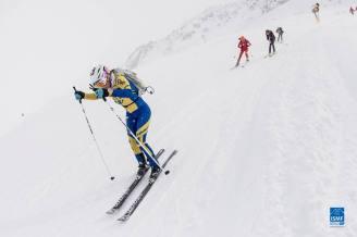 emelie forsberg campeona fontblanca individual foto ismf skimo