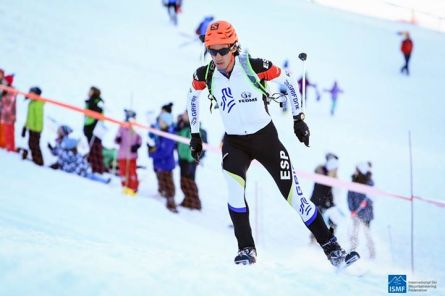 Kilian Jornet Campeón del mundo esqui de montaña en Verbier 2015. Fotos: Ismf skimo