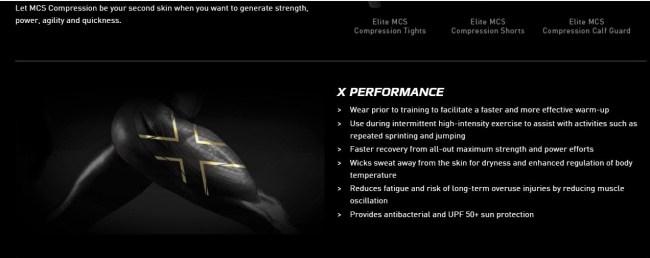 Mallas 2XU MCS: Nuevo desarrollo y ventajas perseguidas.