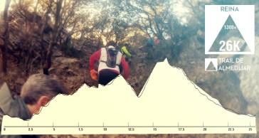 Trail Almedijar. Perfil carrera 26km