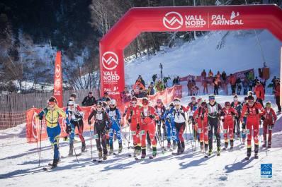 salida femenina vertical race fontblanca skimo 2016
