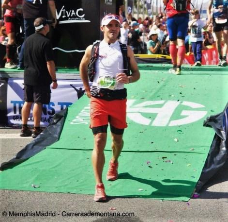 Sebas Sánchez entra campeón en Transgrancanaria 83k 2016.