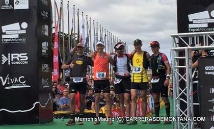 Transgrancanaria 2016: Top5 masculino en meta