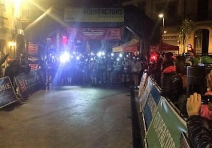 Salida Ultra Montseny 2016.