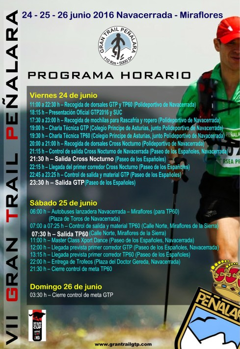 GRAN TRAIL PEÑALARA PROGRAMA 2016 (1)
