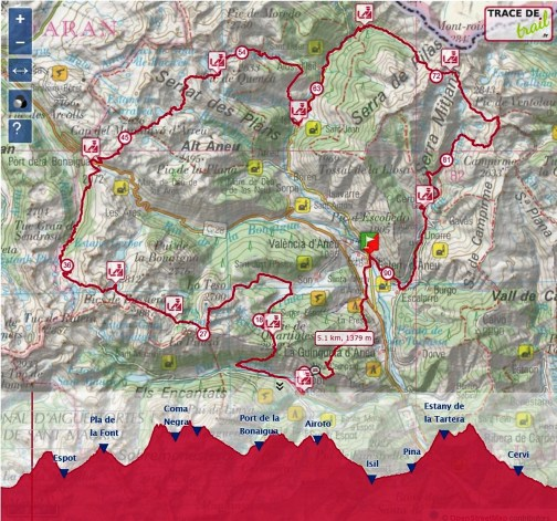 ultra-trail-valls-d-aneu-fotos-2016 mapa de carrera