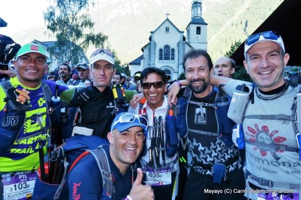 ultra trail mont blanc 2016 fotos salida ptl mayayo