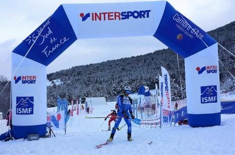 Lenzi cruzaba meta primero apenas dos segundos sobre Jornet. Foto: ISMF