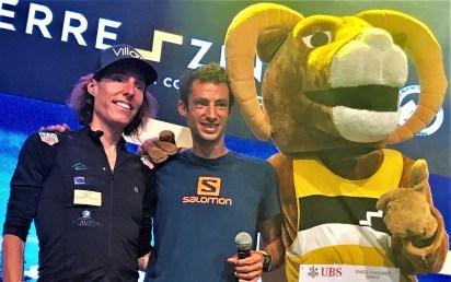 kilian jornet and maude mathys set new records at sierre zinal 2019 Foto Mayayo