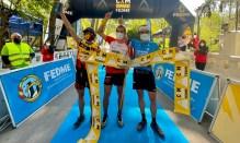 carreras por montaña fedme 2021 magina sky race podio