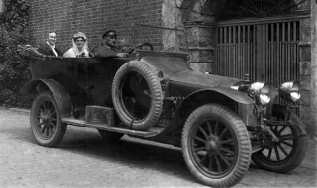1920. Руссо-Балт Е 15/35 торпедо после капитального ремонта на заводе АМО