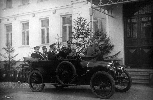 1914-1916 Minerva KX 26 Собственный Её императорского величества государыни императрицы Марии Фёдоровны госпиталь № 1 в Минске.