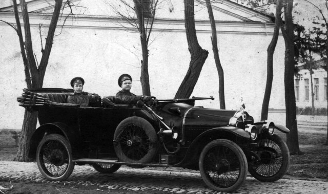 1915.Автомобиль   Минерва в Русской Императорской Армии. Ташкент .