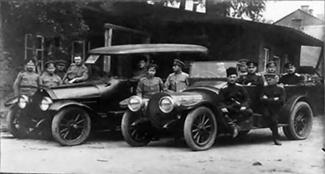 1914-1917 ДелонеБельвиль в Русской Императорской Армии.