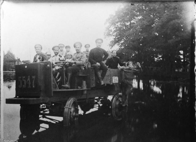 1914. Грузовик Jeffery в Русской Императорской армии.