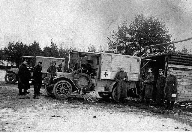 1916. Jeffery 10\16. Лифляндия.