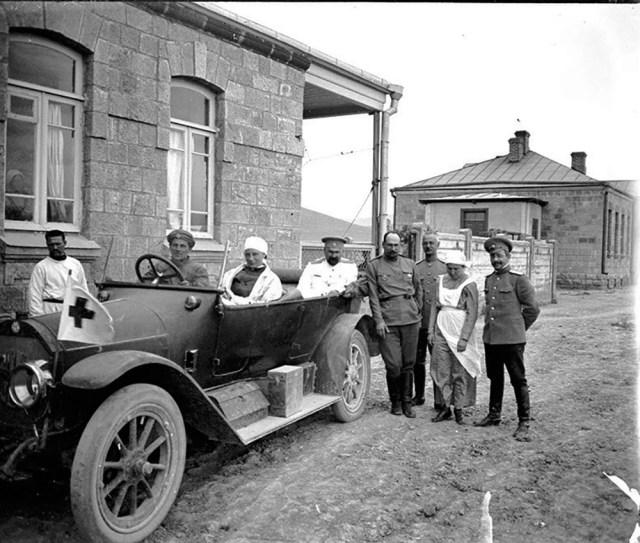 1914-1915 Benz госпиталя в Тифлисе.
