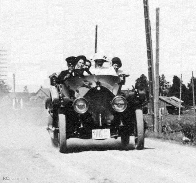 1913. Mitchell Four-Four 35HP. Гельсингфорс .ВКФ.
