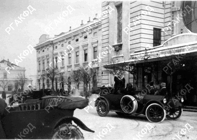 1916. Приезд великой княгини Виктории Федоровны в город Тарнополь.