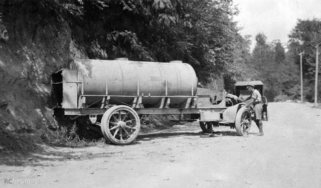 1916. Автомобиль- цистерна White TCD . Кавказский фронт Британский бронедивизион.