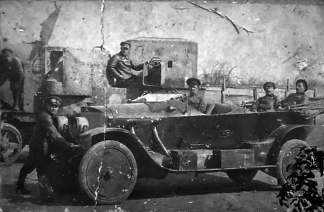 1918-1921 Mercedes в Советской России.