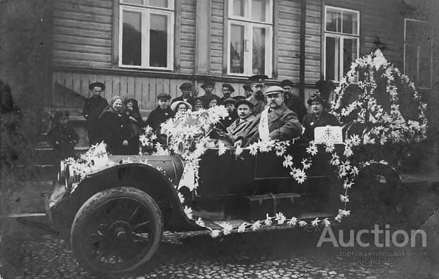 1912 Делоне-Бельвиль. День белой ромашки. Нарва. Фотограф Рейдолф.
