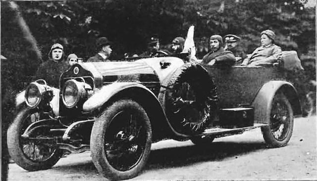 1913 Автомобиль Minerva в России