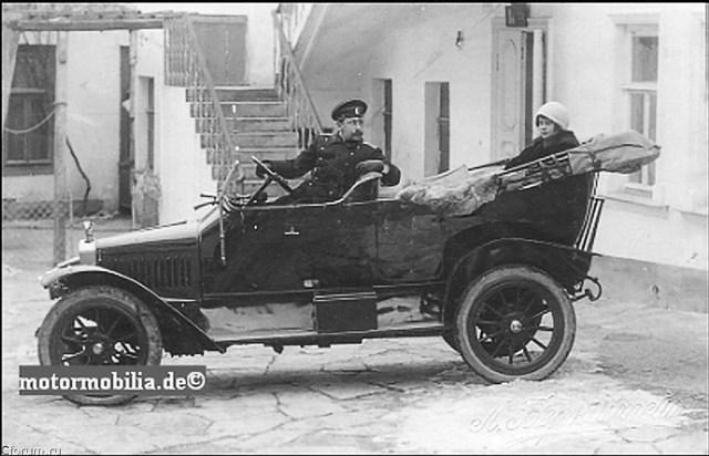 1912. Adler 35 PS в России.