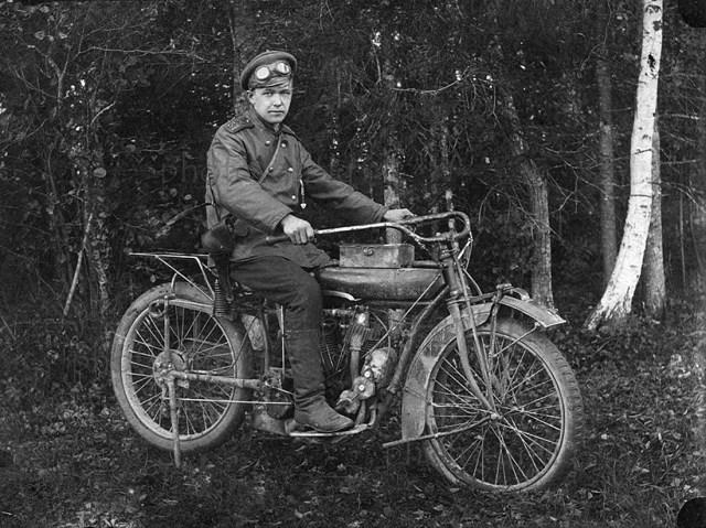 1914 – 1916 Мотоцикл Indian в Русской Императторской Армии
