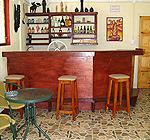 Adams Eve Bar on Paradise Beach Carriacou.