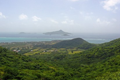 View on Petite Martinique from Dover.