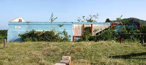 Grand Bay Battery remains.