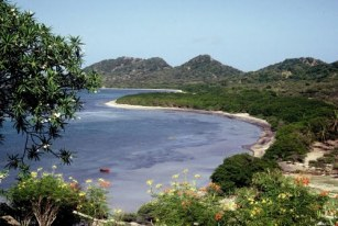 Grand Bay seen from Tarleton Point.